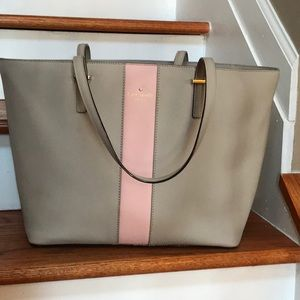 kate spade Bags - HP🎉Sale! ♠️Kate Spade leather Colorblock tote ♠️